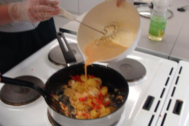 Reseptikuva: Espanjalainen munakas 5