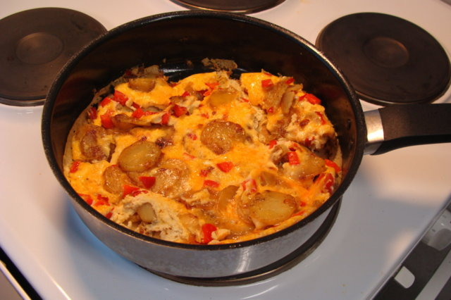 Reseptikuva: Espanjalainen munakas 1