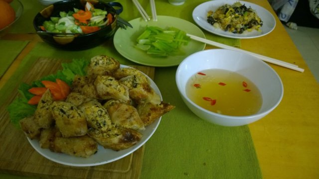 Vietnamilaiset Kevätkääryleet(Jauheliha/katkarapu) 4