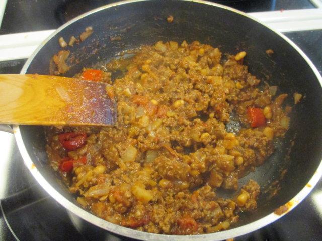 Tortillat chili con carne 5
