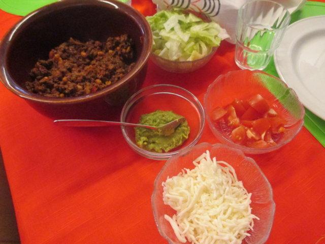 Tortillat chili con carne 1