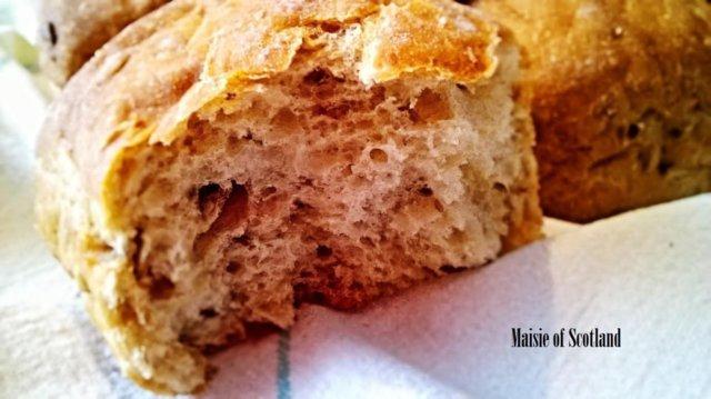 Reseptikuva: Hunajaisen pehmeät puurosämpylät (G) 2