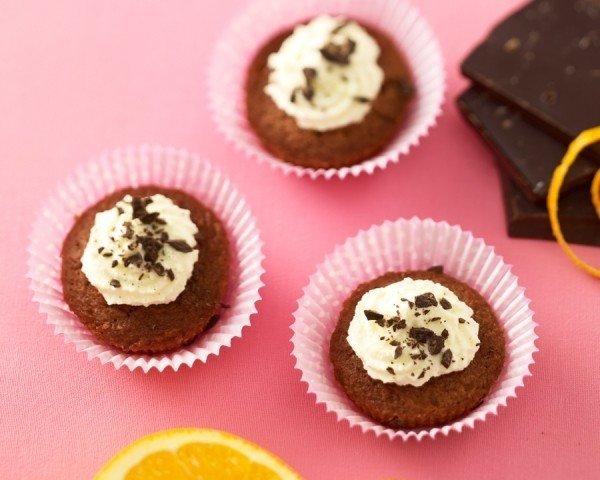 Appelsiini-suklaamuffinit, gluteeniton