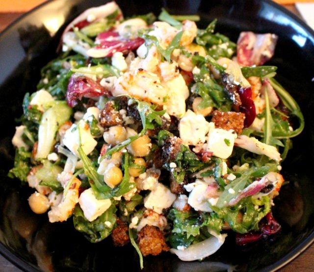 Reseptikuva: Ravunpyrstö-Rucola Salaatti Sitruuna Vinaigretilla 1
