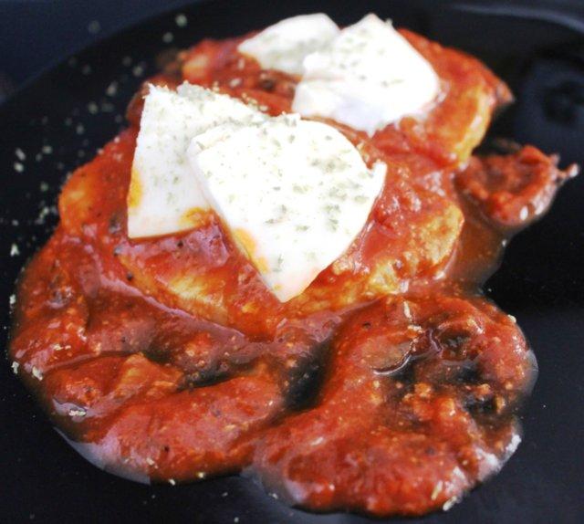 Reseptikuva: Possunleikkeet alla Pizzaiola 1