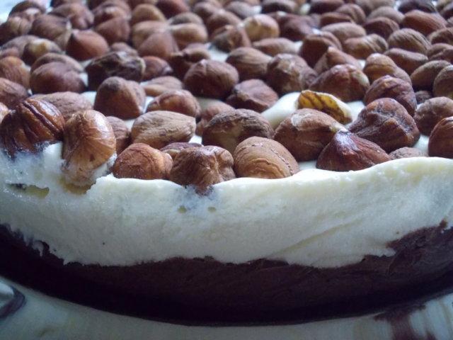 Reseptikuva: Pakastettu kahden suklaan pähkinäkakku 1