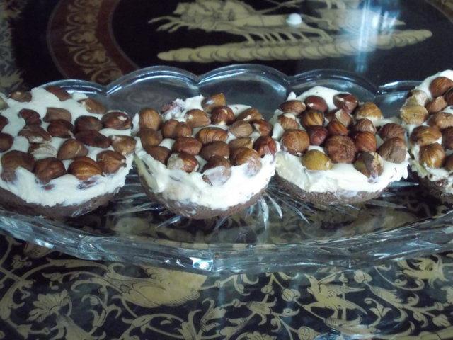Reseptikuva: Pakastettu kahden suklaan pähkinäkakku 3