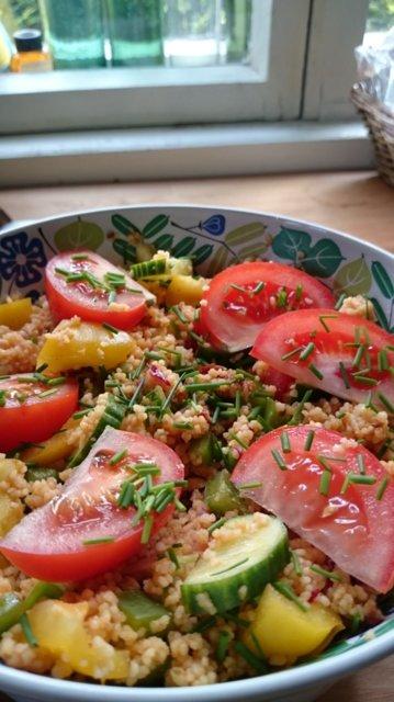 Kuskus-salaatti 1
