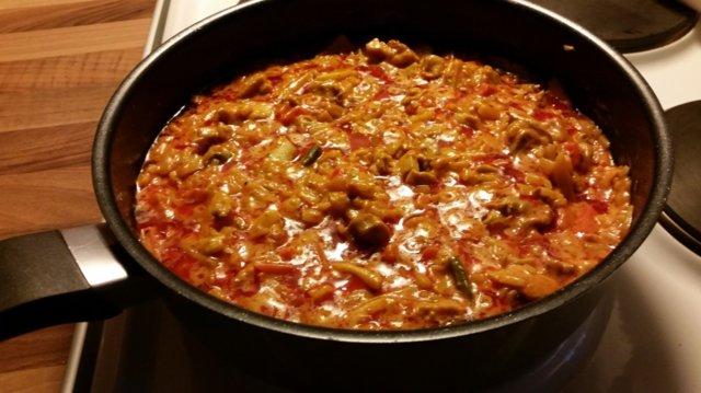 Intian Thai ruoka, helppo!