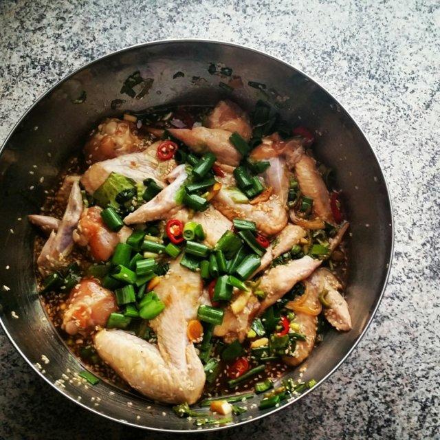 Kiinalainen kanansiipimarinadi 1