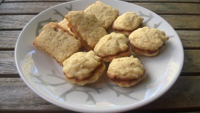 Reseptikuva: Sitruuna-valkosuklaa pikkuleivät 1