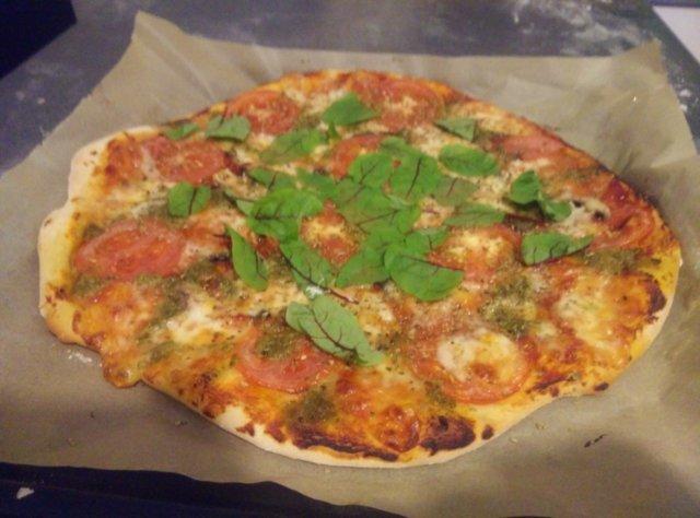 Reseptikuva: 2 kasvis pizzaa 1