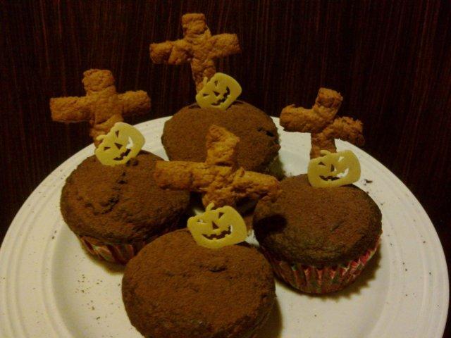 Halloween Suklaa Muffinssit 1
