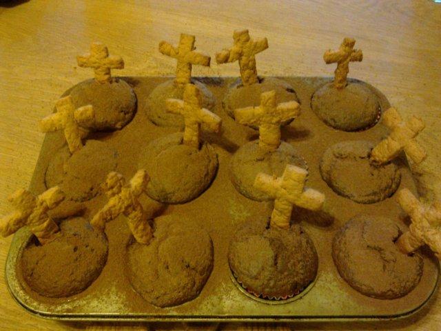 Halloween Suklaa Muffinssit 2