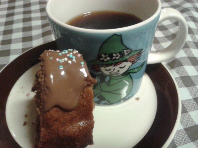 Helppo suklainen kahvikakku