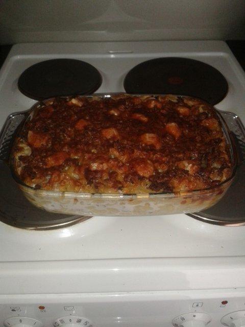 Makaroonilaatikko äidin reseptillä 1