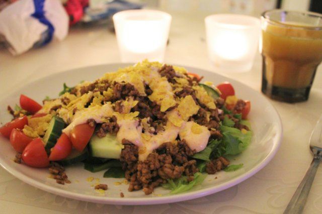 Reseptikuva: Texmex-salaatti 1