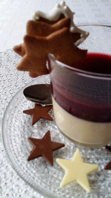 joulu jälkiruoka PANNA COTTA JOULUINEN. JÄLKIRUOKA   Kotikokki.  reseptit joulu jälkiruoka