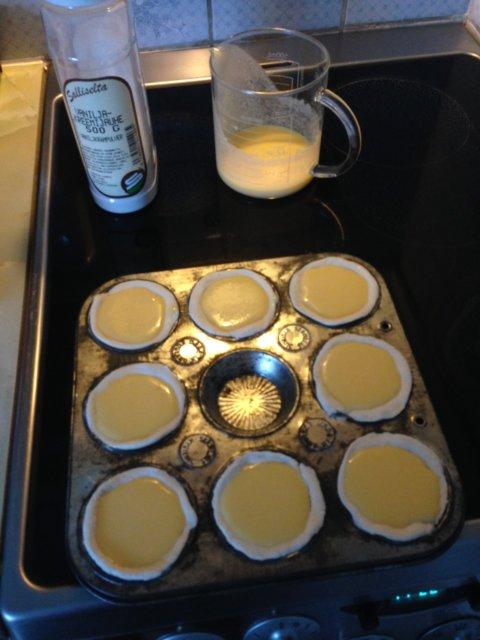Helppo pastel de nata