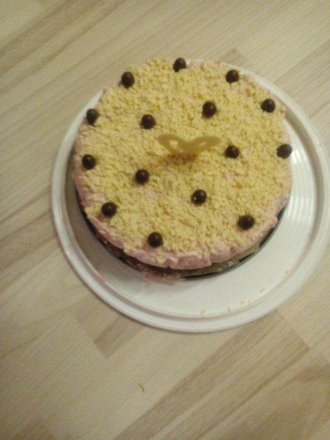 Mansikka mascarpone-juustokakku 2