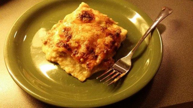 Reseptikuva: Hieman tuunattu lasagne 1