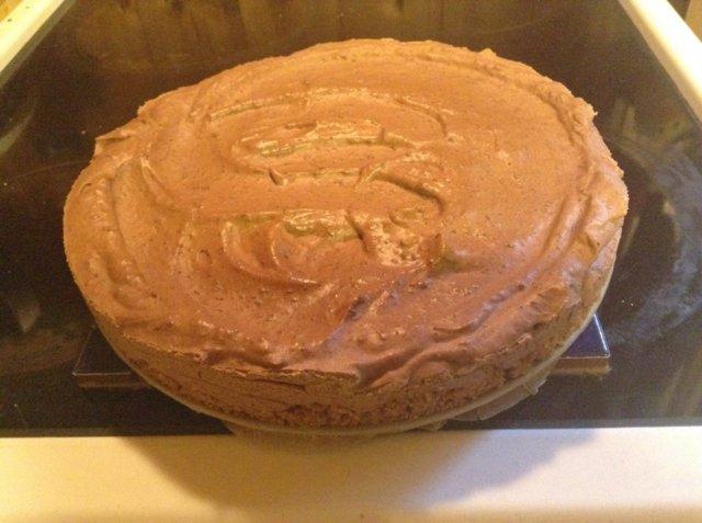 Reseptikuva: Jäädytetty tumma suklaakakku 1