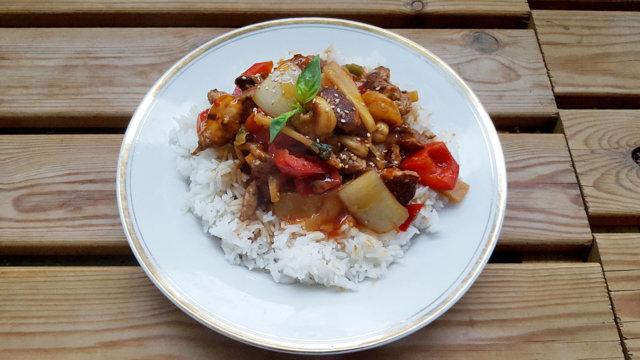 Jarell's Kung Po Chicken