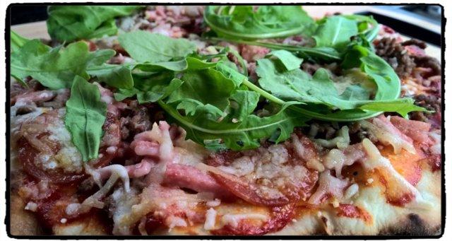 Reseptikuva: Grillattu pizza 2