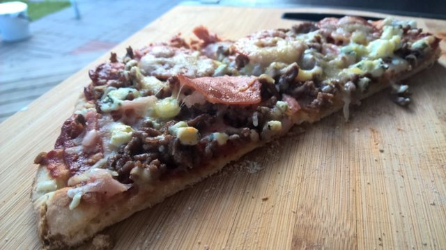 Reseptikuva: Grillattu pizza 1