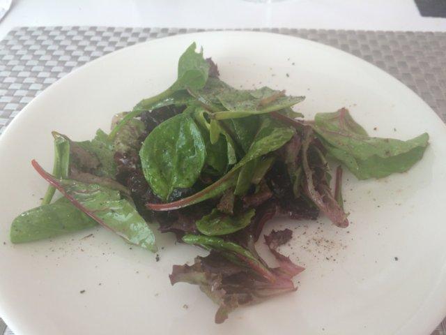 Kastike vihreälle salaatille (fine dining) 3