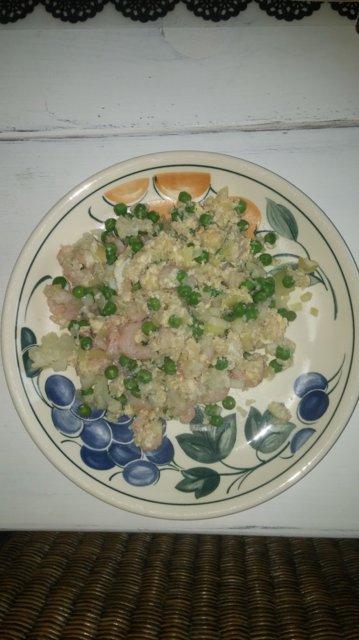 Paistettu riisi kukkakaalista 1
