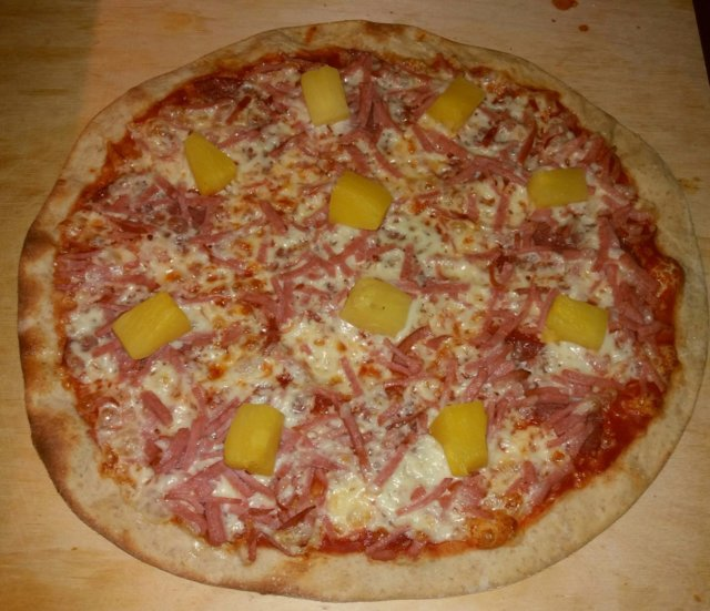 Rapea ja ohut pizzapohja (3kpl)