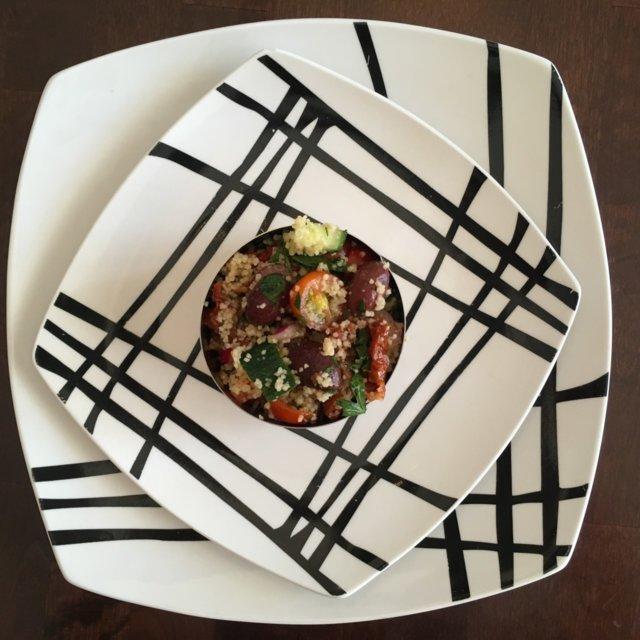 Reseptikuva: Couscous-salaatti 1
