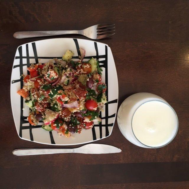 Reseptikuva: Couscous-salaatti 2