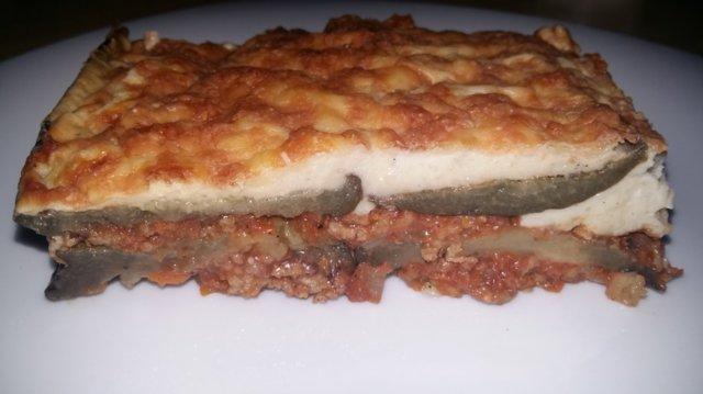 Moussaka (kreikkalainen lihakasvisvuoka)