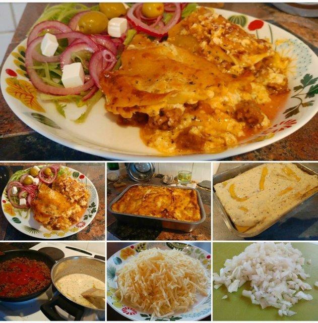 Reseptikuva: Maailman paras lasagne ilman tomaattimurskaa 1