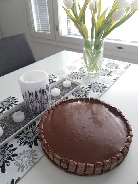 Ahaa -suklaajuustokakku