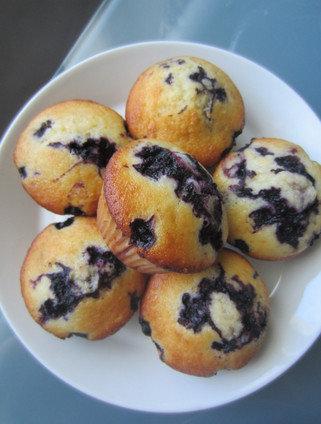 mustikka muffinit