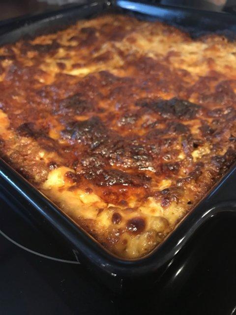 Helppo ja nopea koskenlaskija lasagne