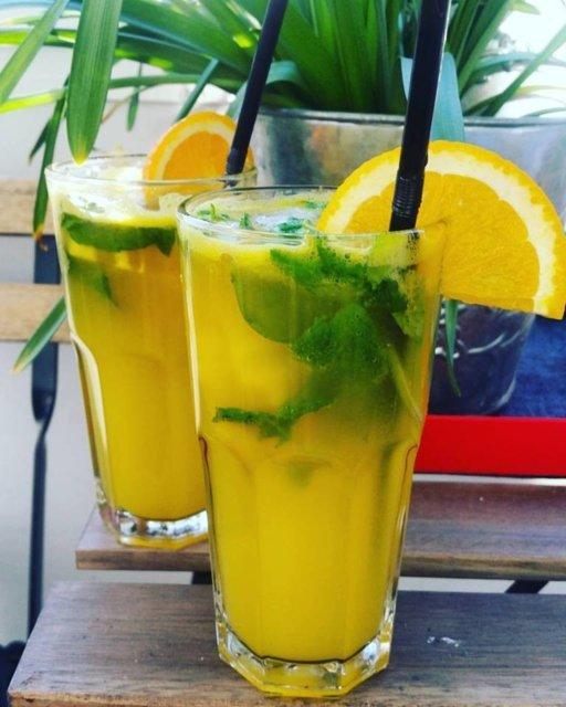 Reseptikuva: Appelsiinimojito 1