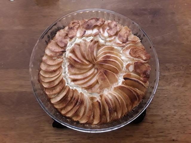 Reseptikuva: Gluteiiniton omenapiirakka 1