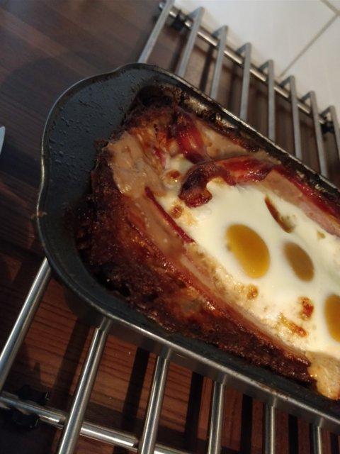 Reseptikuva: Jauhelihamureke juustolla ja munalla 1