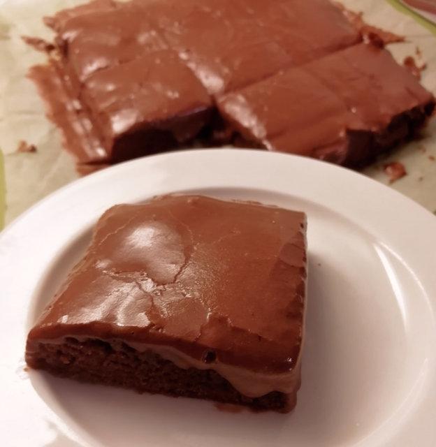 Kuorrutetut browniet