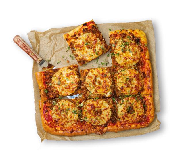 Pizza Bolognese Maalaiskanan tapaan