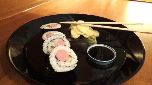 Reseptikuva: Nakki Sushi 1