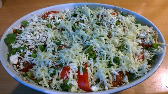 Kesäkurpitsa-tomaattivuoka 3