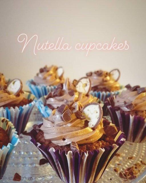 Reseptikuva: Nutella-kuppikakkuset 1