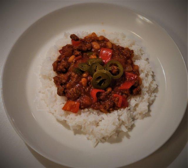 Helppo Chili con carne (tai sen tapainen) 2
