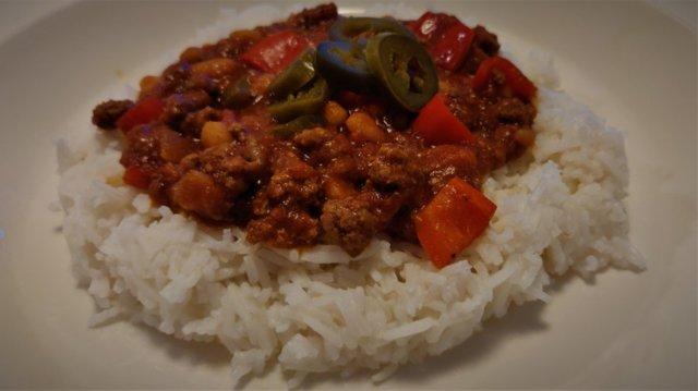 Helppo Chili con carne (tai sen tapainen) 1
