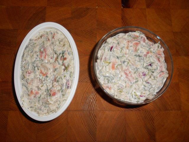 Reseptikuva: 2 kalan mousse 1